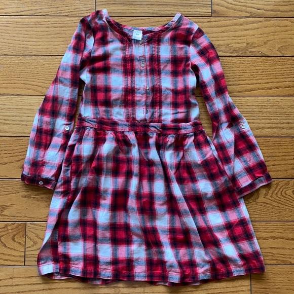 GIRLS FLANNEL DRESS